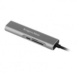 HUB USB TIP C HDMI/USB3.0/SD/MICROSD/TIP C