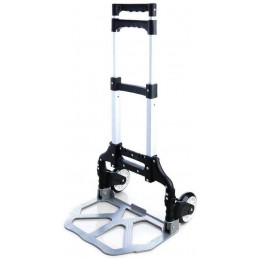 Carucior multifunctional pliabil cu platforma si roti pivotante, extensibil, sistem antialunecare100cm