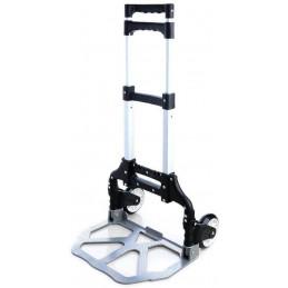 Carucior multifunctional pliabil cu platforma si roti pivotante, extensibil, sistem antialunecare, Liza pliabila 100cm