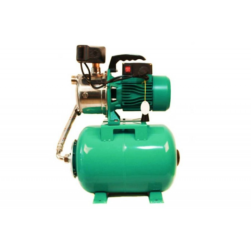 Hidrofor cu pompa centrifugala AUJET100SS 1500 W 100% bobinaj cupru vas 24L
