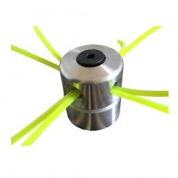 Tambur mosor trimmer aluminiu cu 4 fire, cap metal, cheie imbus