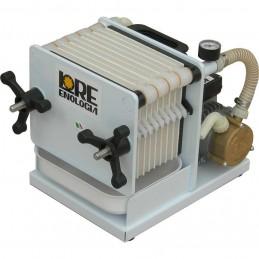 Filtru vin cu pompa Lore Enologia 10 placi 0.5CP model SF10, autoamorsare, dublu sens