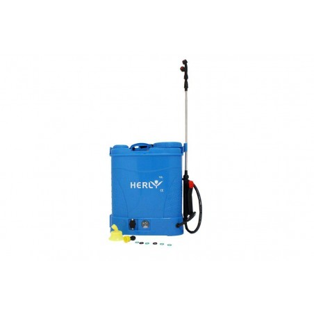 Pompa de stropit electrica 12L cu acumulator, Herly, GF-1517