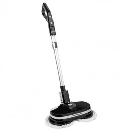 Mop electric Power Clean 60W, portabil, cu acumulator, functie ceruire, maner telescopic, LED, Teesa
