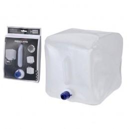 Bidon pentru apa, maretial plastic pliabil cu robinet si maner capacitate 14 litri