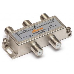 Splitter TV de interior 4 cai - Signal R-4 (7 dB, 5-1000 MHz)