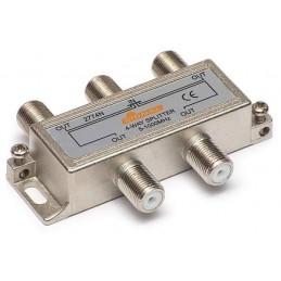 Splitter TV de interior 4 cai - Signal R-4 (7 dB, 5-1000 MHz)