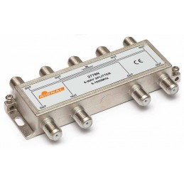 Splitter TV de interior 8 cai - Signal R-8 (10.5 dB, 5-1000 MHz)