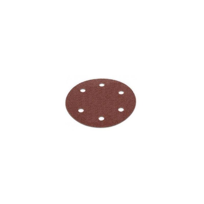 Disc hartie abraziva, smirghel granulatie P60 cu prindere scai pentru slefuitor glet pereti, tavan, rigips, diametru 215mm