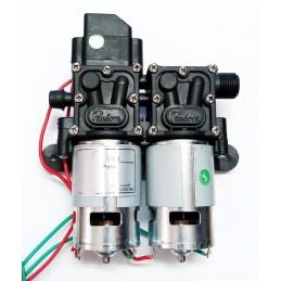 Pompa apa cu presostat, 12V, 8 litri / minut, 110PSI, 7.5bar, autoamorsare, corp dublu, Micul Fermier