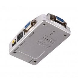 Kit splitter semnal VGA la RCA, S-Video, AV, DVR, VGA