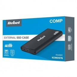 Rack SSD M.2 SATA3 USB 3.0 aluminiu, max 2TB, REBEL