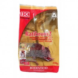 Raticid Ratibrom 2 Pasta 200 gr Kollant