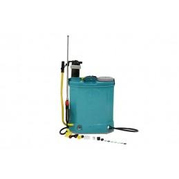 Pompa de stropit electrica si manuala 16L, 2in1, cu acumulator, Micul Fermier, GF-1326