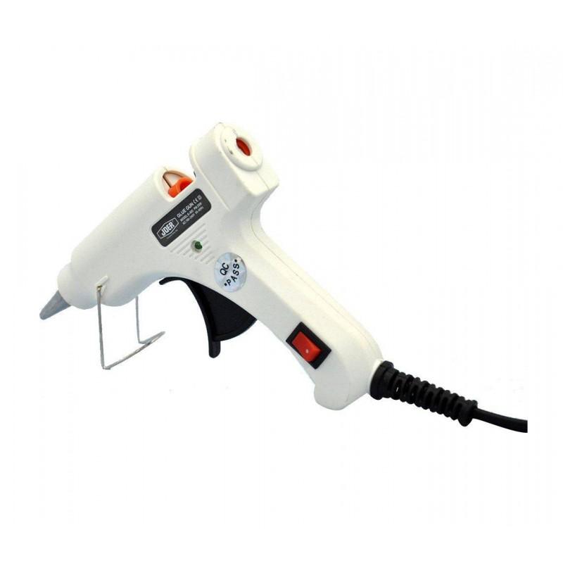 Pistol de lipit cu silicon la cald JDER S-603 20W 110V-220V + bara silicon 7mm