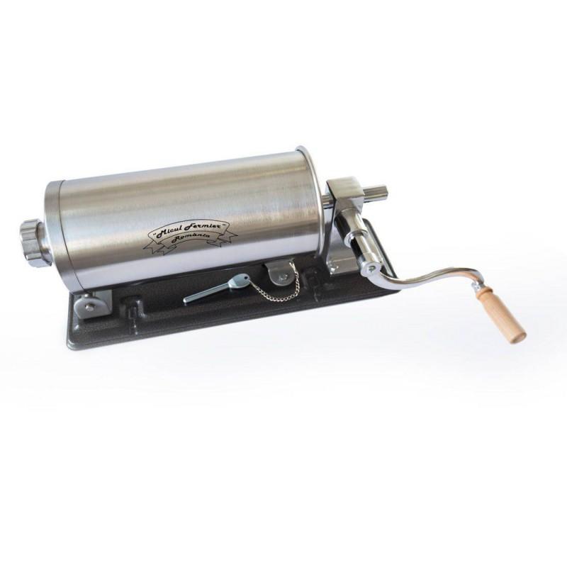 Masina De Facut Carnati Micul Fermier 3kg INOX 4 palnii YG-2006PA