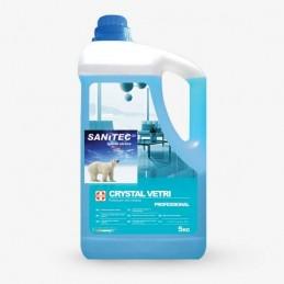 Solutie curatat geamuri CRYSTAL VETRI detergent - 5kg SANITEC 2261