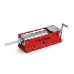 Masina de umplut carnati manuala 2 viteze REBER 8951N, capacitate 8 kg, 4 palnii