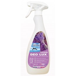 DEO LUX LAVANDA odorizant ambiental antibacterian - 750ml Profesional SANIDET 1713