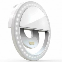 Selfie ring light pentru smartphone - lampa selfie led telefon