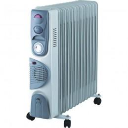 Calorifer electric 13 elementi, functie Turbo - aeroterma, ventilator, 6 canale ulei, 3 trepre putere, Blade, DA-J2900