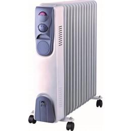 Calorifer electric 11 elementi, 2500W, 6 canale ulei, 3 trepre putere, Blade, DA-J2500