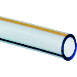Furtun PVC transparent 3/8, 10x14mm, 1 metru