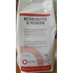 Metabisulfit de potasiu, 1kg, OENO Italia