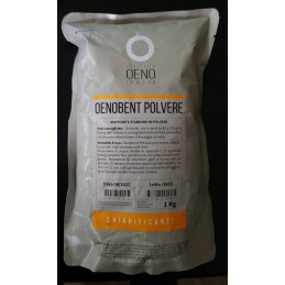 OENOBENT pulbere, bentonita,1kg, OENO Italia