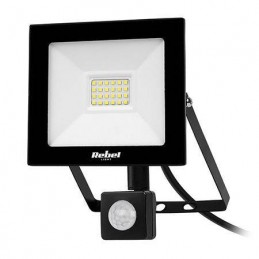 Proiector LED 20W REBEL 6500K 1600lm IP44 senzor prezenta si timer