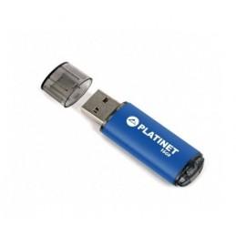 Memorie USB Platinet 16GB, Pendrive USB 2.0, Albastru