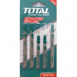 Set 5 lame fierastrau pendular pentru lemn, metal si aluminiu, Total
