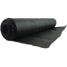 Plasa antiburuieni 1 x 20 m, negru