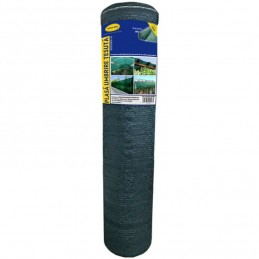Plasa umbrire 1.5 x 25 m- verde - 80 g/mp