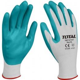 Manusi protectie TOTAL nitril+textil, marime XL