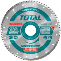 Disc debitare beton TAC2131251 - 125MM TOTAL INDUSTRIAL
