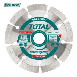 Disc debitare beton TAC2111251 - 125MM TOTAL INDUSTRIAL