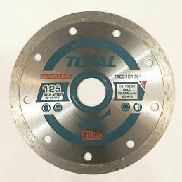 Disc debitare placi ceramice TAC2121251 - 125MM TOTAL INDUSTRIAL