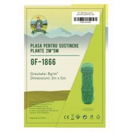 Plasa pentru sustinere plante 2x5m 8g/m2 Micul Fermier