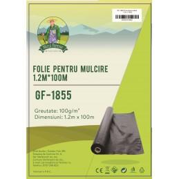 Folie pentru mulcire 1.2x100m 100g/m2 Micul Fermier