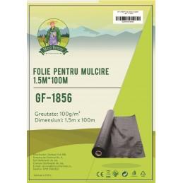 Folie pentru mulcire 1.5x100m 100g/m2 Micul Fermier