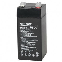 Acumulator gel plumb Vipow, 4V 4.9Ah