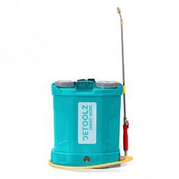 Pompa stropit cu acumulator 16 Litri Detoolz , robinet cupru, furtun presiune mare, Model 2020 + regulator presiune