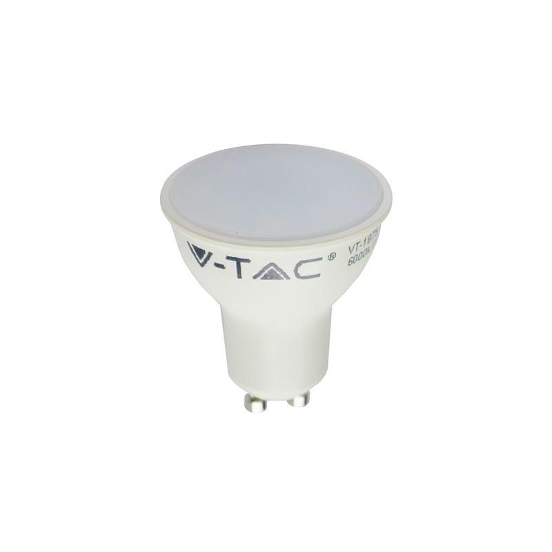 BEC SPOT LED GU10 5W 220-240V 4500K ALB NEUTRU V-TAC SKU-1686