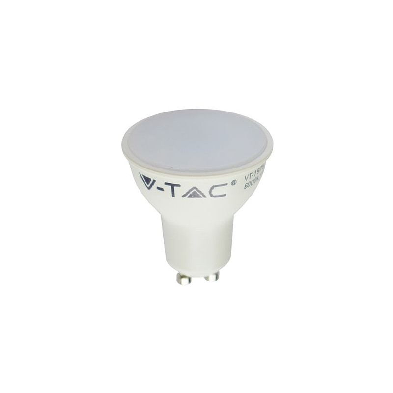 BEC SPOT LED GU10 5W 220-240V 6000K ALB RECE V-TAC SKU-1687