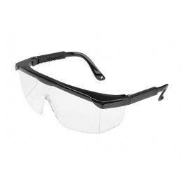 Ochelari de protectie laterala si frontala cu reglaj, rama neagra
