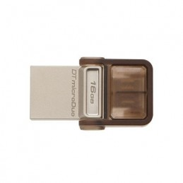 FLASH DRIVE 16GB MICRODUO USB 2.0 KINGSTON DTDUO/16GB
