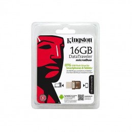 FLASH DRIVE 16GB MICRODUO USB 2.0 KINGSTON DTDUO/16GB