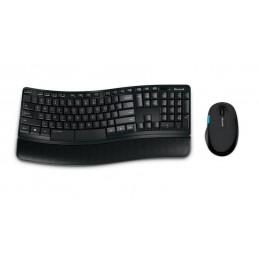 Kit Tastatura si Mouse Wireless Microsoft Sculpt Comfort Desktop L3V-00021