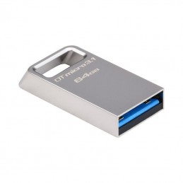 Memorie USB Kingston DataTraveler Micro, 64GB, USB 3.1/3.0, Metal DTMC3/64GB